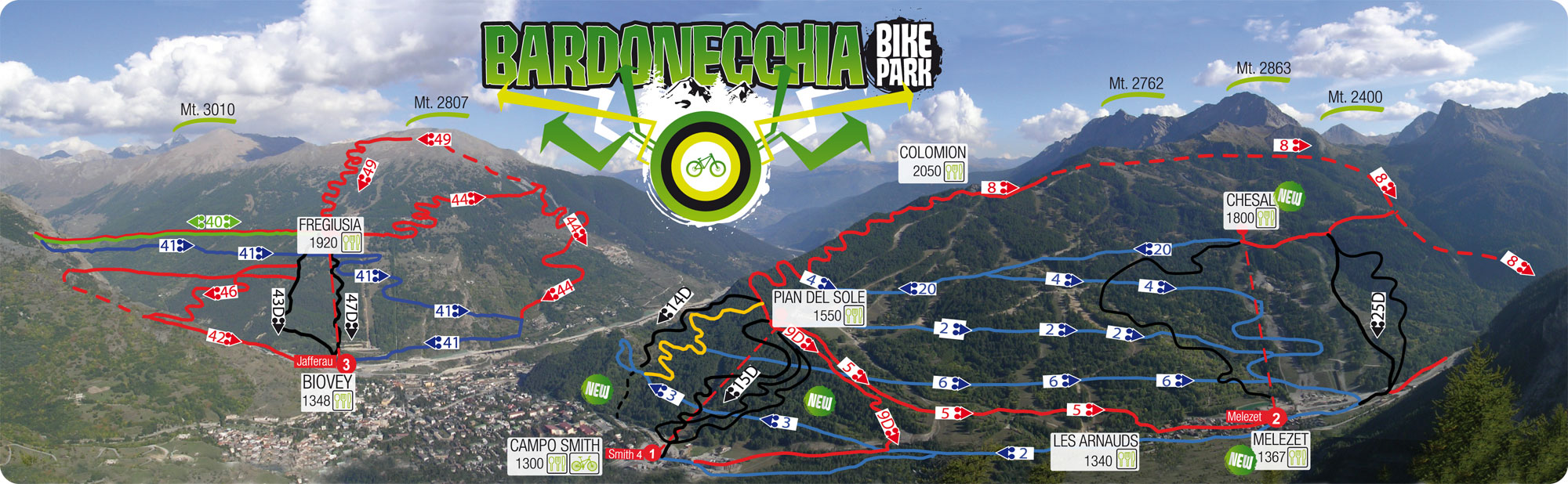 bardonecchia bike trails